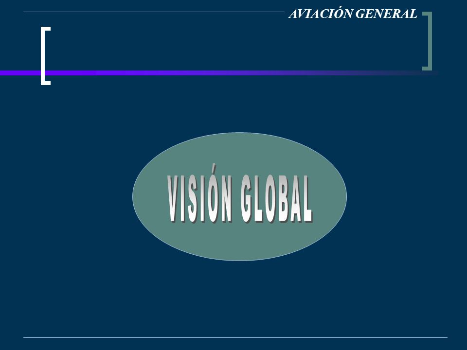 AVIACIÓN GENERAL VISIÓN GLOBAL