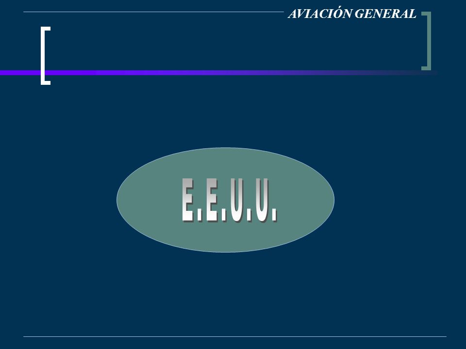 AVIACIÓN GENERAL E.E.U.U.