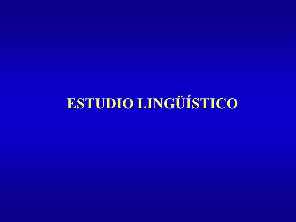 ESTUDIO LINGÜÍSTICO Introducción Tipos de Evaluación