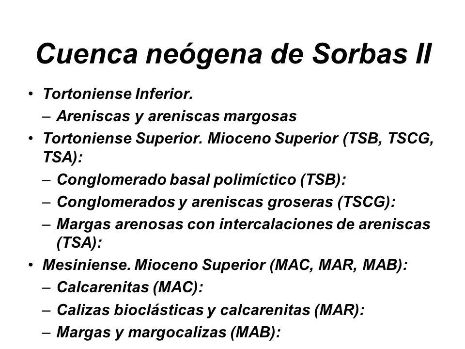 Cuenca neógena de Sorbas II