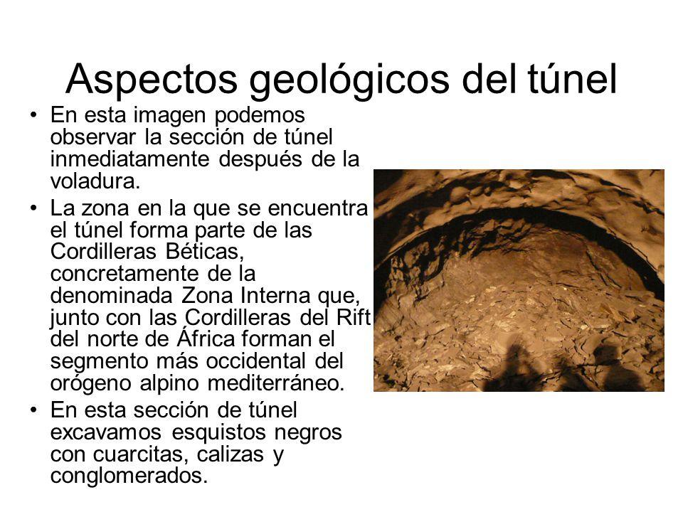 Aspectos geológicos del túnel