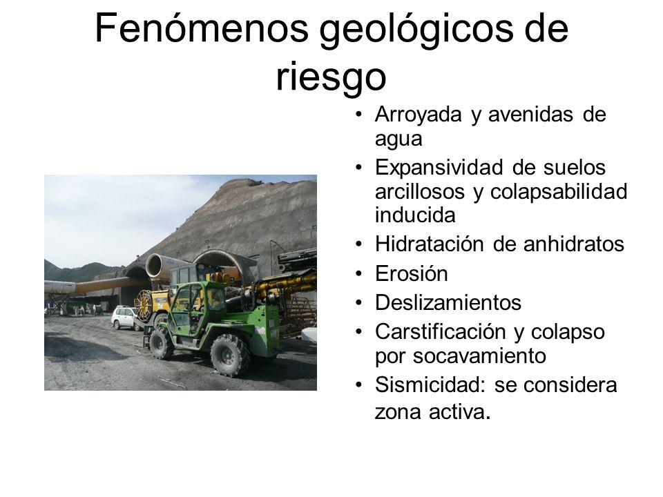 Fenómenos geológicos de riesgo