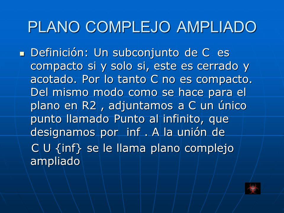 PLANO COMPLEJO AMPLIADO