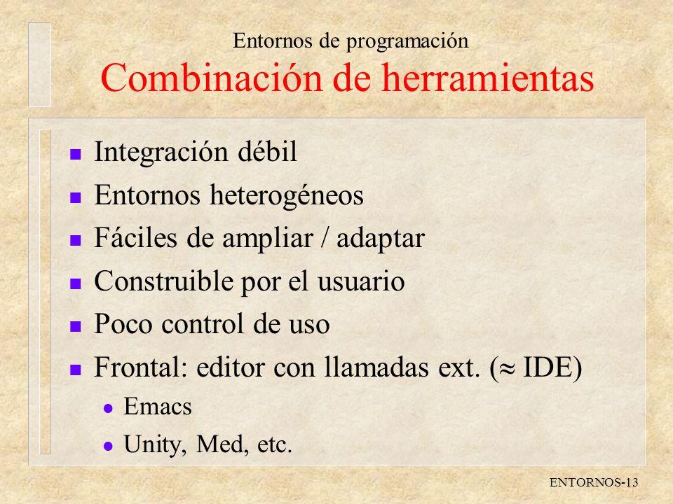 Combinación de herramientas