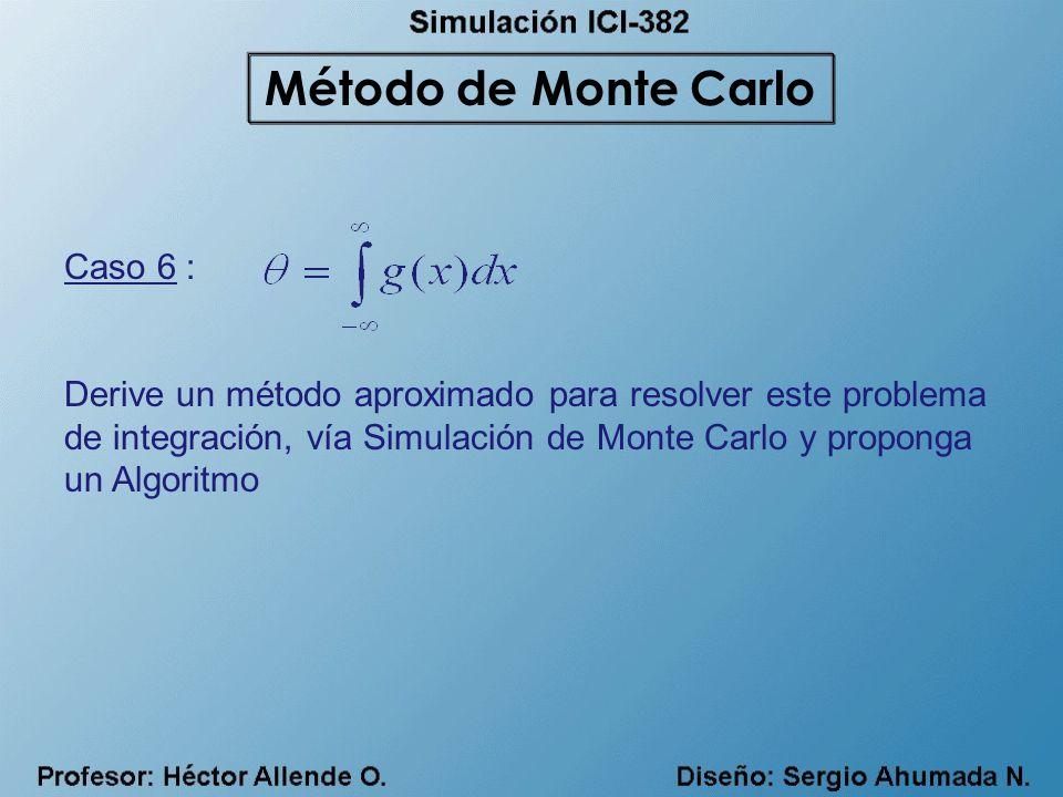 Método de Monte Carlo Caso 6 :