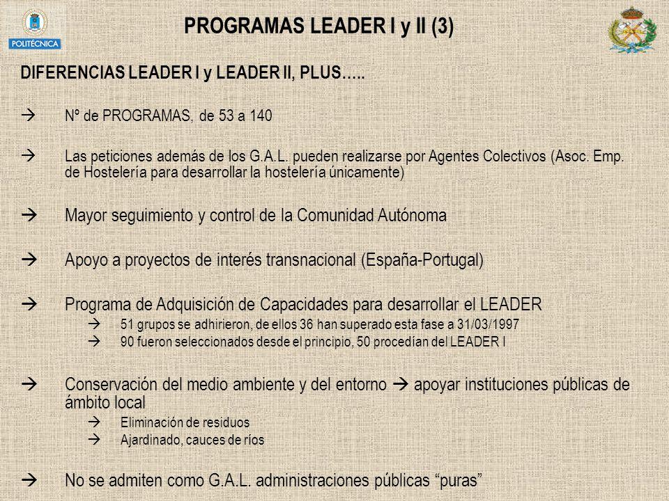 PROGRAMAS LEADER I y II (3)