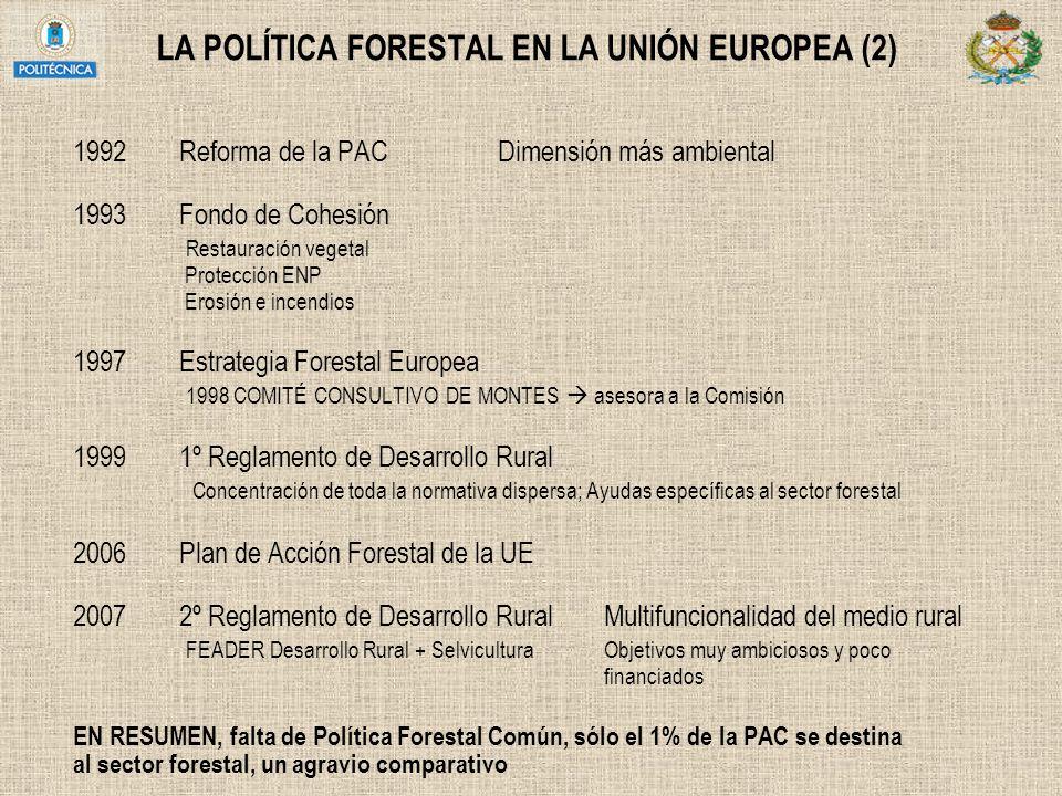 LA POLÍTICA FORESTAL EN LA UNIÓN EUROPEA (2)
