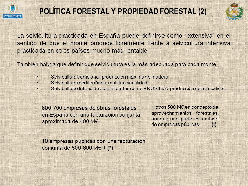 POLÍTICA FORESTAL Y PROPIEDAD FORESTAL (2)