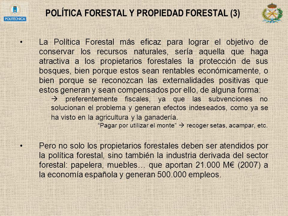 POLÍTICA FORESTAL Y PROPIEDAD FORESTAL (3)