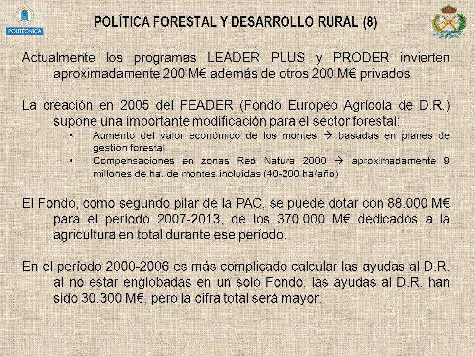 POLÍTICA FORESTAL Y DESARROLLO RURAL (8)