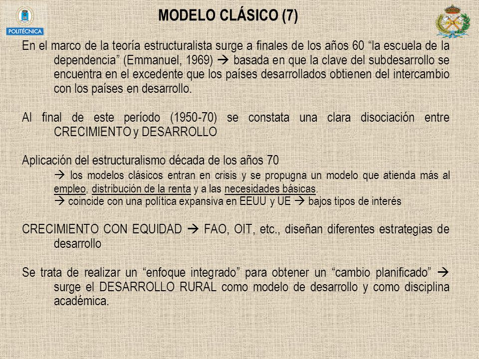 MODELO CLÁSICO (7)