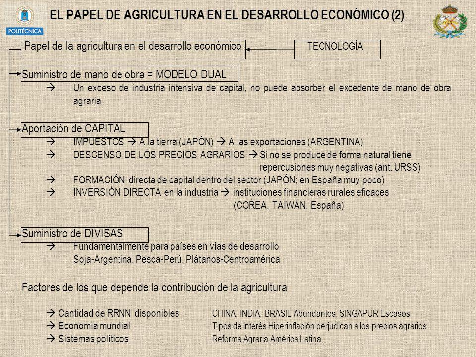 EL PAPEL DE AGRICULTURA EN EL DESARROLLO ECONÓMICO (2)