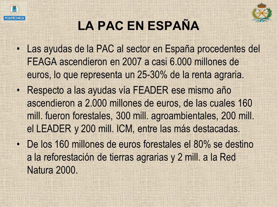 LA PAC EN ESPAÑA