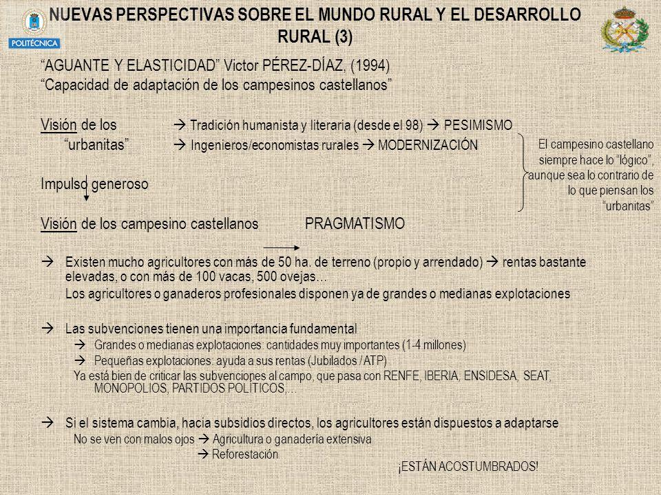 NUEVAS PERSPECTIVAS SOBRE EL MUNDO RURAL Y EL DESARROLLO RURAL (3)