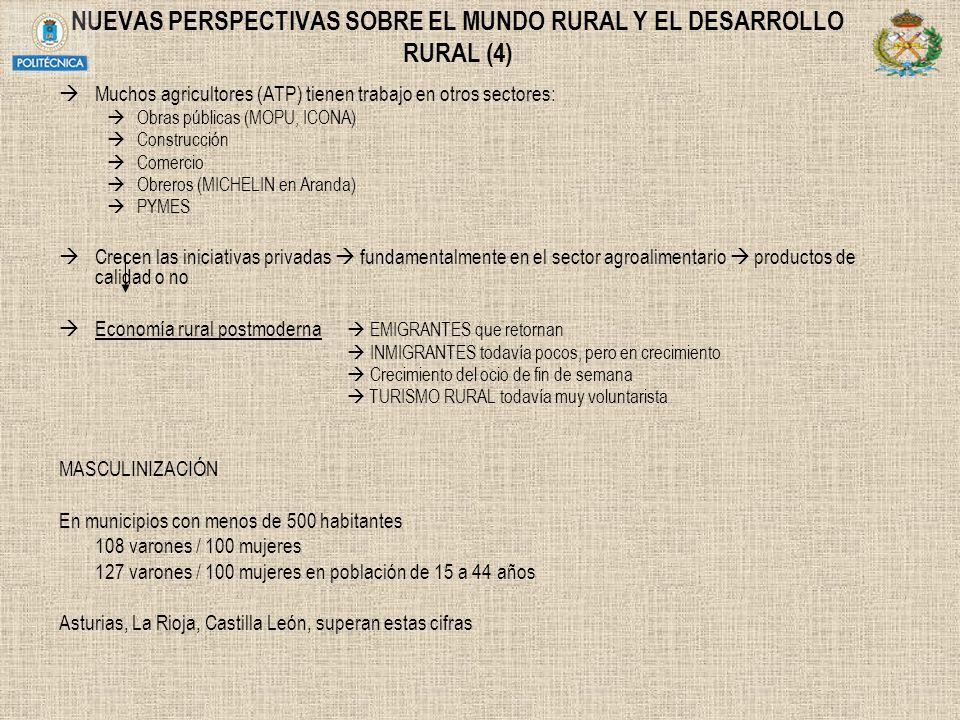 NUEVAS PERSPECTIVAS SOBRE EL MUNDO RURAL Y EL DESARROLLO RURAL (4)