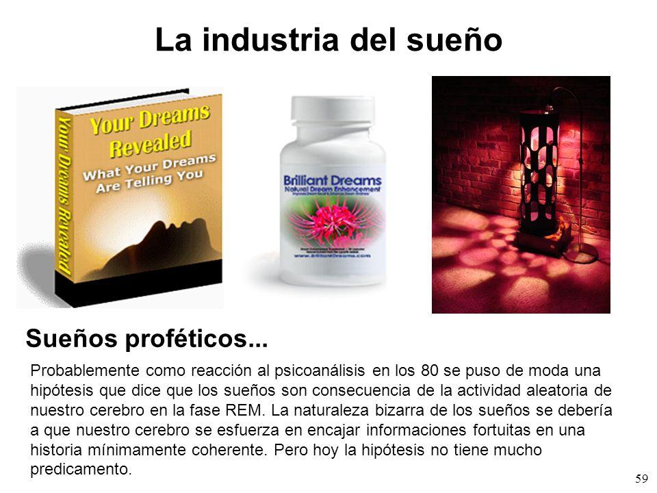 La industria del sueño Sueños proféticos...