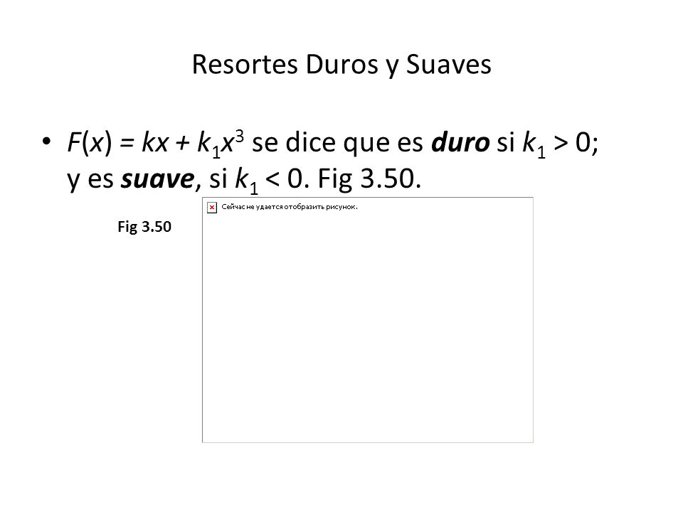 Resortes Duros y Suaves
