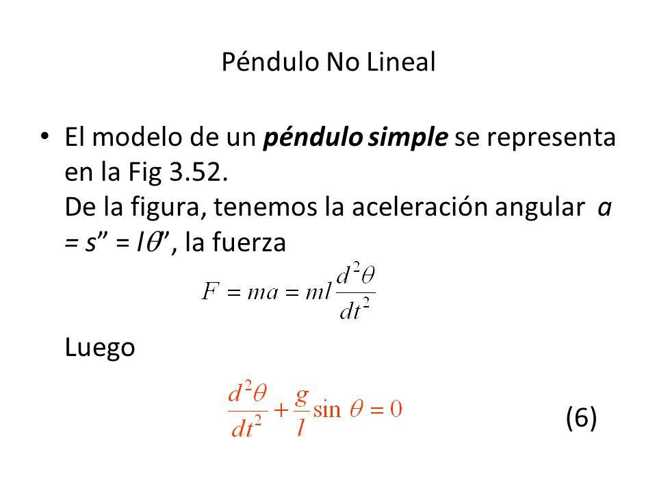 Péndulo No Lineal