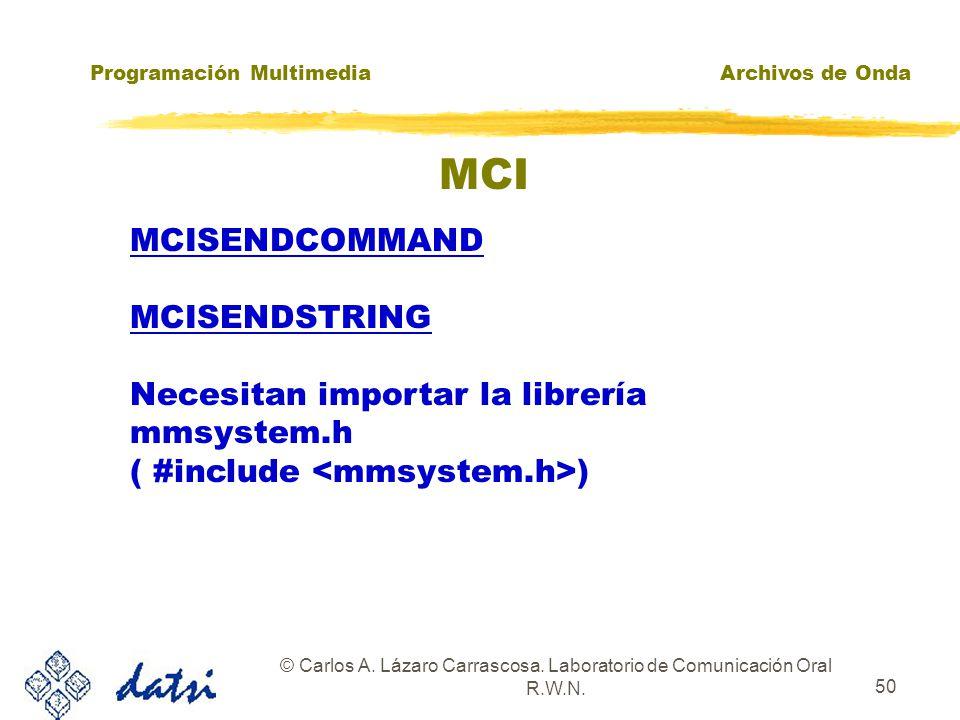 Programación Multimedia