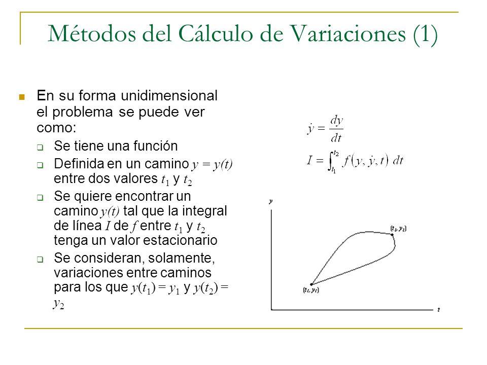 Métodos del Cálculo de Variaciones (1)