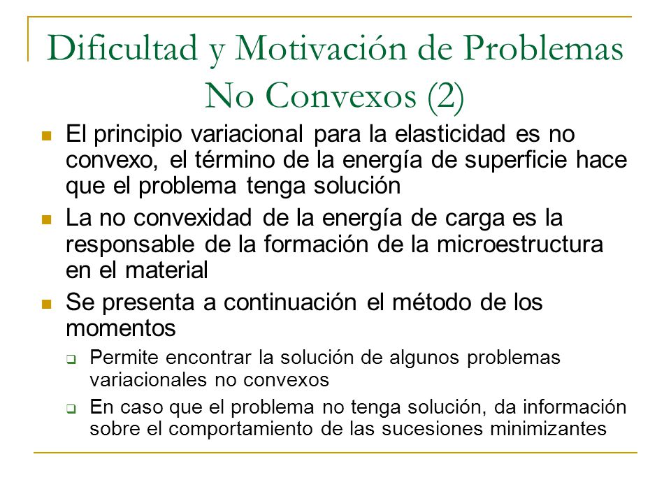 Dificultad y Motivación de Problemas No Convexos (2)