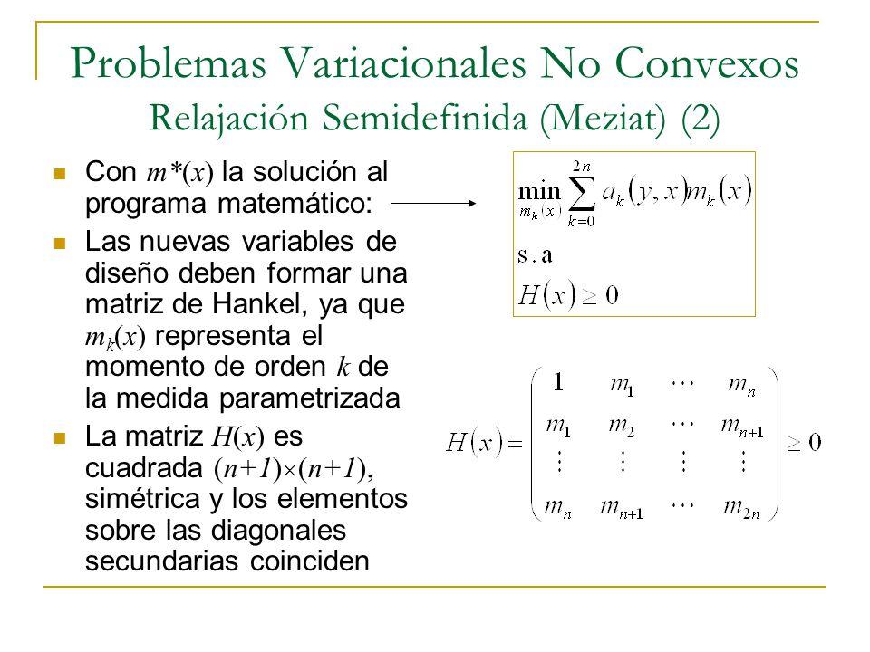 Problemas Variacionales No Convexos Relajación Semidefinida (Meziat) (2)