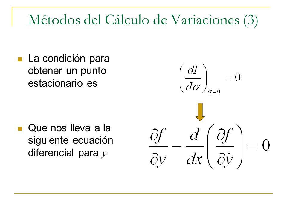 Métodos del Cálculo de Variaciones (3)