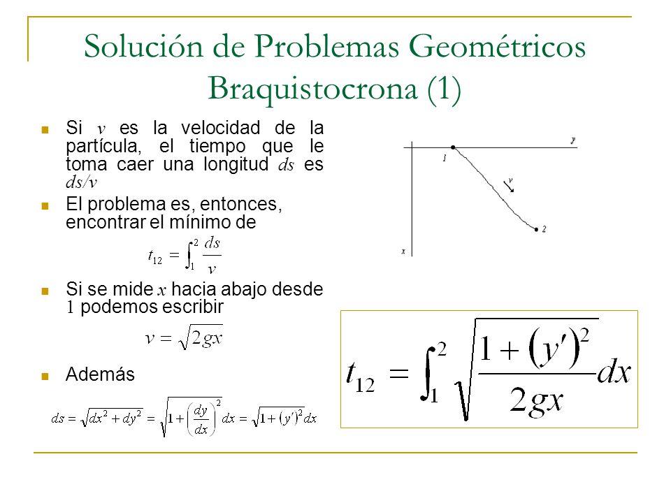 Solución de Problemas Geométricos Braquistocrona (1)