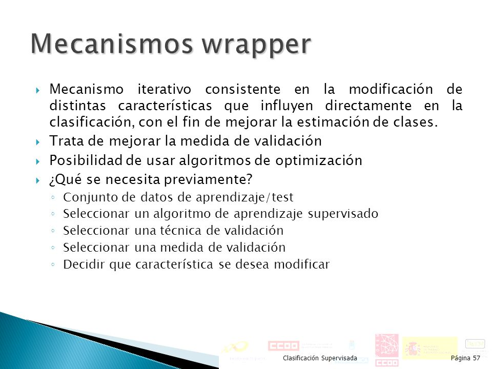 Mecanismos wrapper