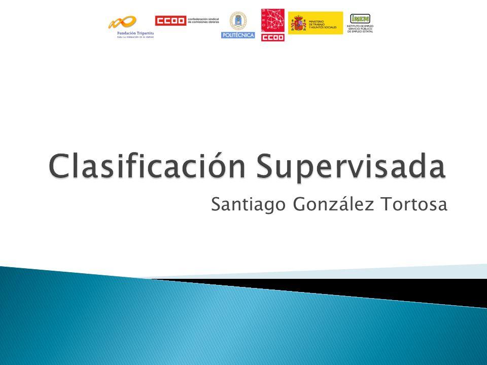Clasificación Supervisada