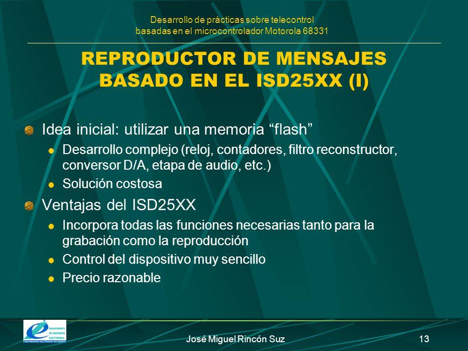 REPRODUCTOR DE MENSAJES BASADO EN EL ISD25XX (I)