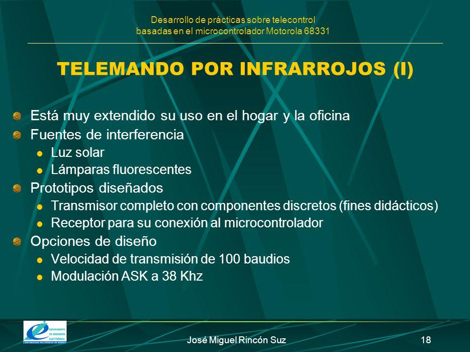TELEMANDO POR INFRARROJOS (I)