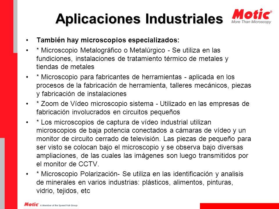 Aplicaciones Industriales
