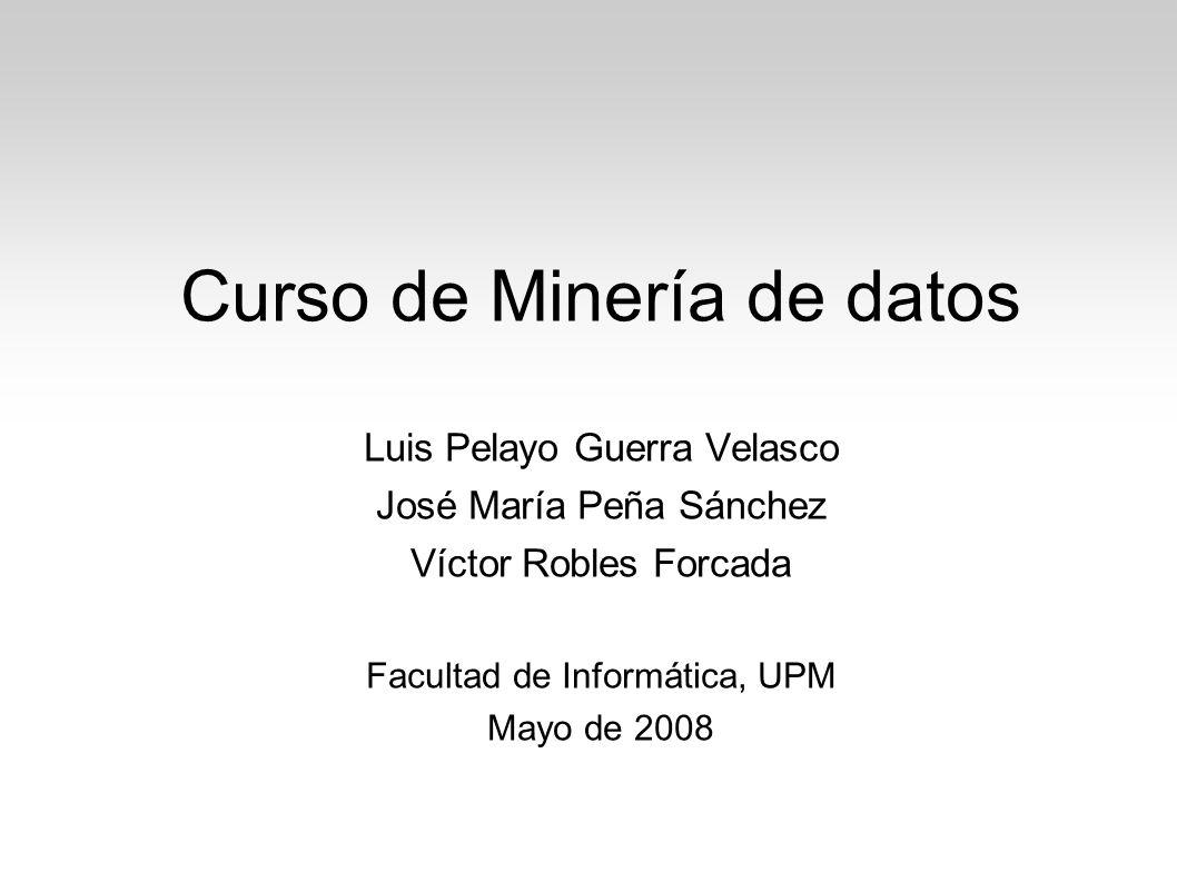 Curso de Minería de datos