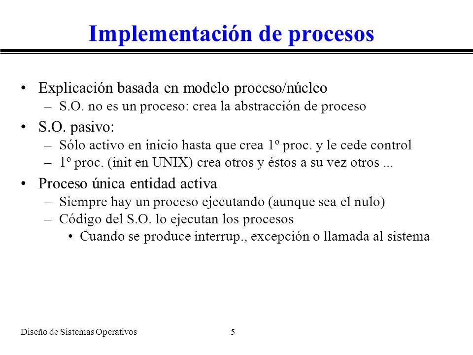Implementación de procesos
