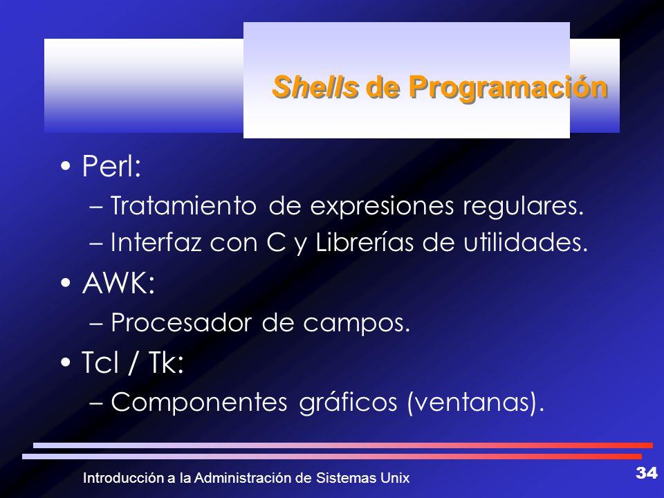 Shells de Programación