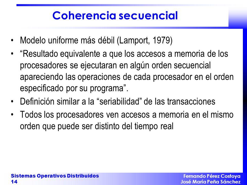 Coherencia secuencial