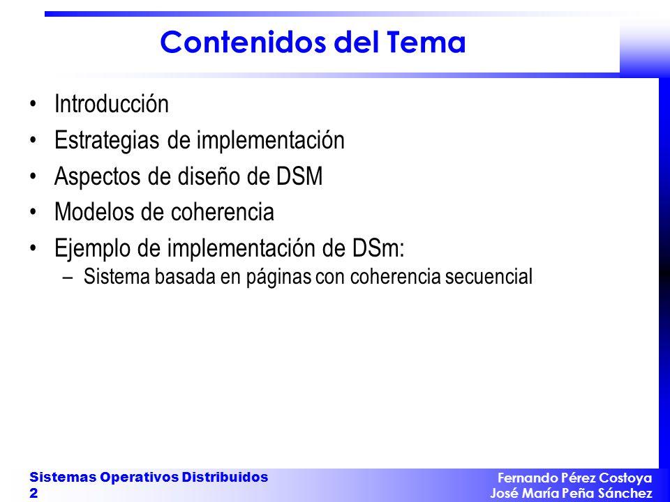 Contenidos del Tema Introducción Estrategias de implementación