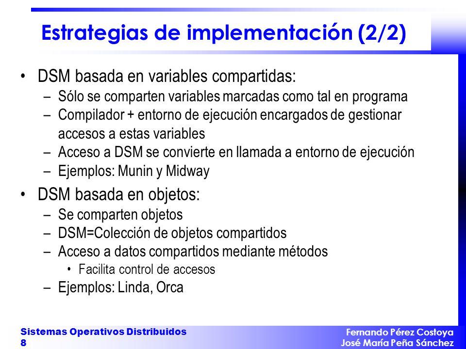 Estrategias de implementación (2/2)