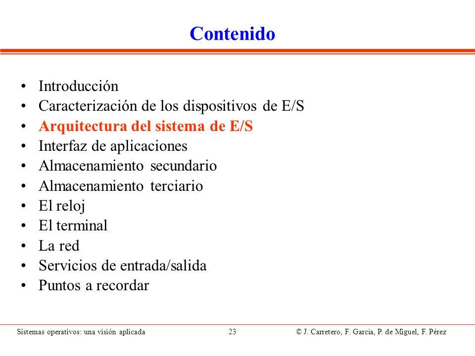 Capas del sistema de E/S