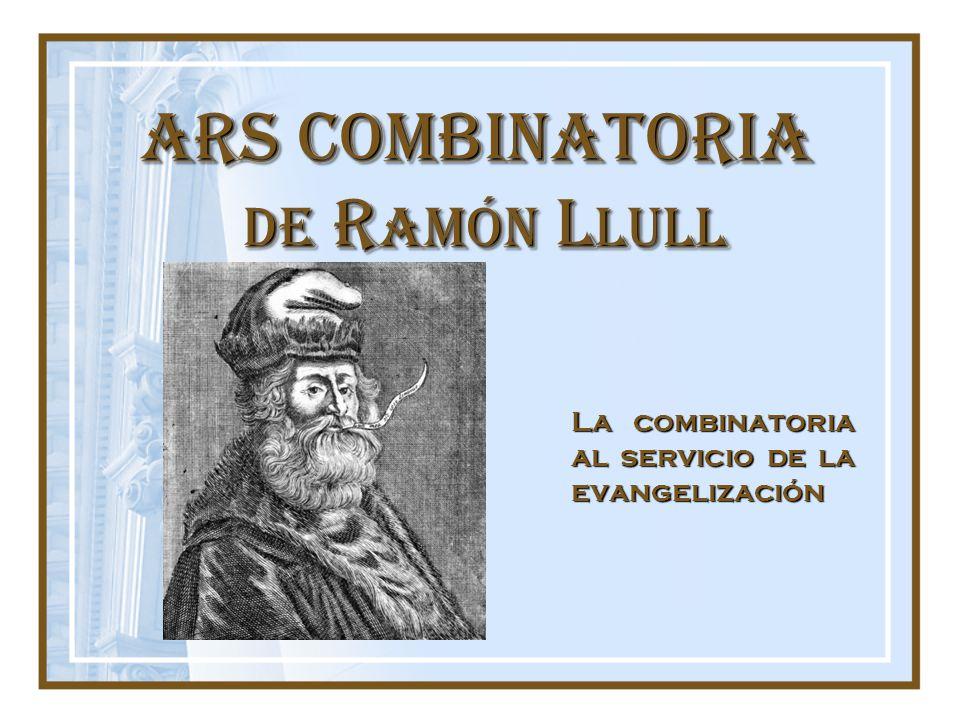 ARS COMBINATORIA de Ramón Llull
