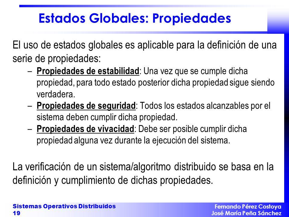 Estados Globales: Propiedades