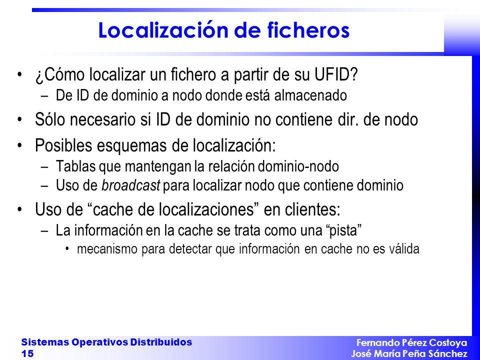 Localización de ficheros