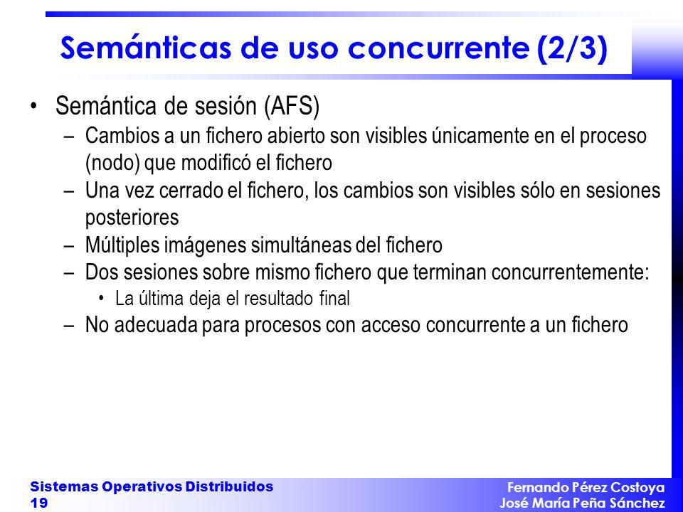 Semánticas de uso concurrente (2/3)