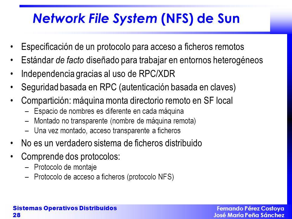 Network File System (NFS) de Sun