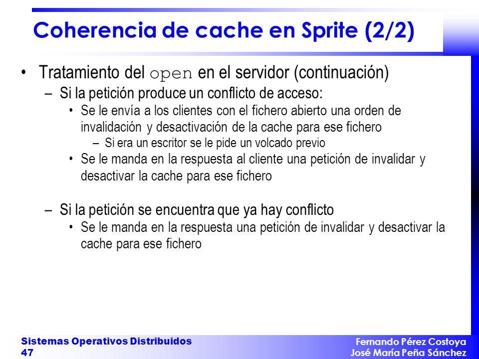 Coherencia de cache en Sprite (2/2)