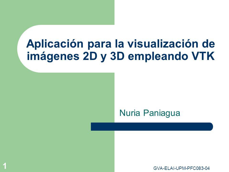 Aplicación para la visualización de imágenes 2D y 3D empleando VTK