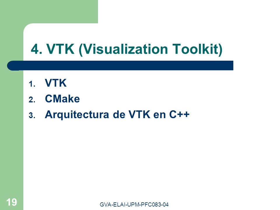 4. VTK (Visualization Toolkit)