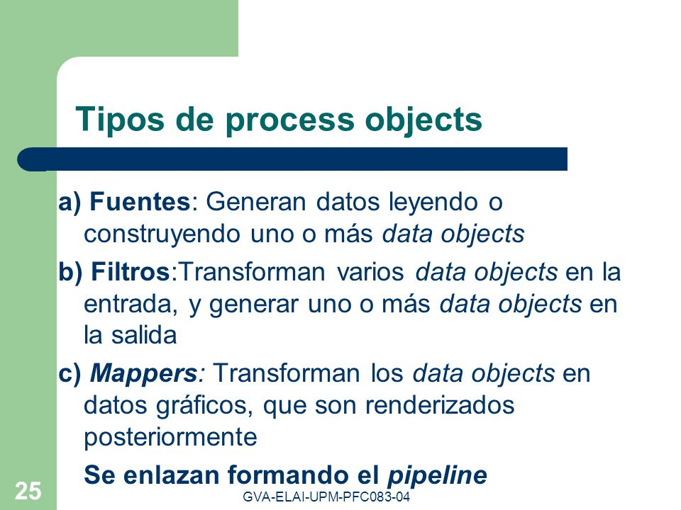 Tipos de process objects