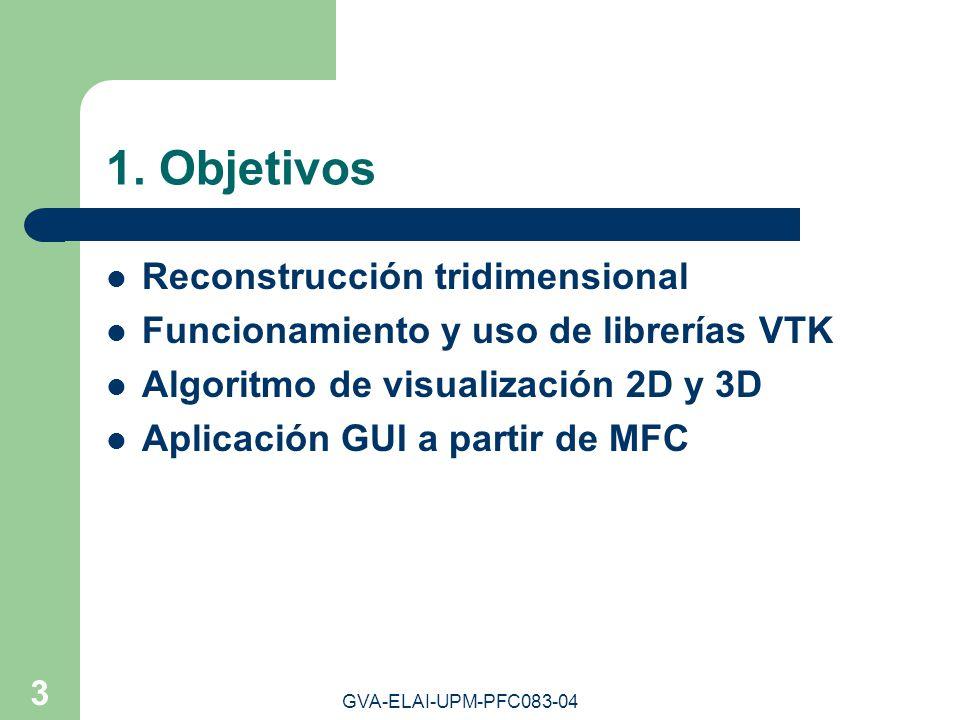 1. Objetivos Reconstrucción tridimensional